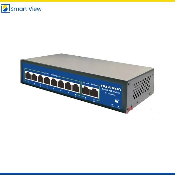 Switch POE 8 cổng Huviron F-SP3-8F2F-BL