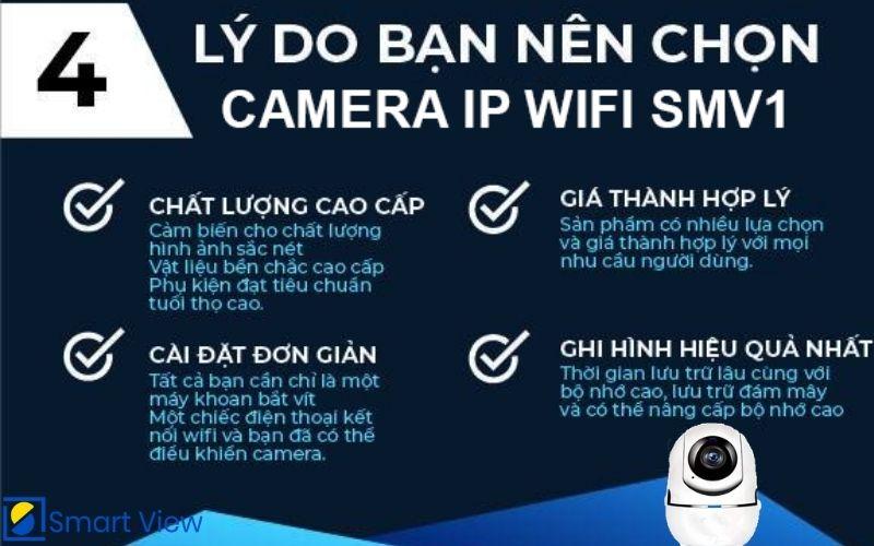 Camera IP WIFI Smv1
