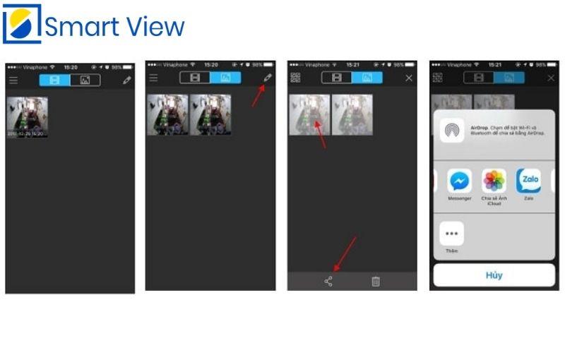 Một số chức năng khác trên phần mềm Kbview Lite