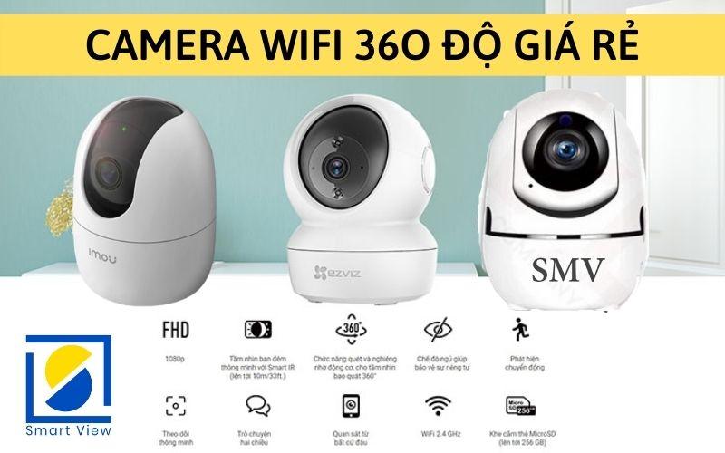 Lắp đặt Camera Wifi 360 độ Tại Nhà Giá Rẻ Nhất